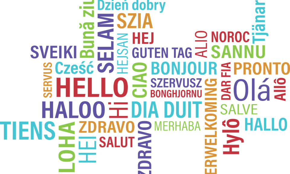 Hello in lots of different languages