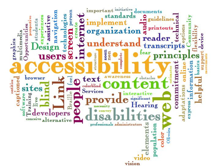 Simple steps for creating accessible content
