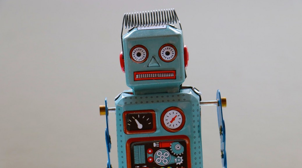 A picture of a robot - Can you really leave your multilingual customer service to this guy?